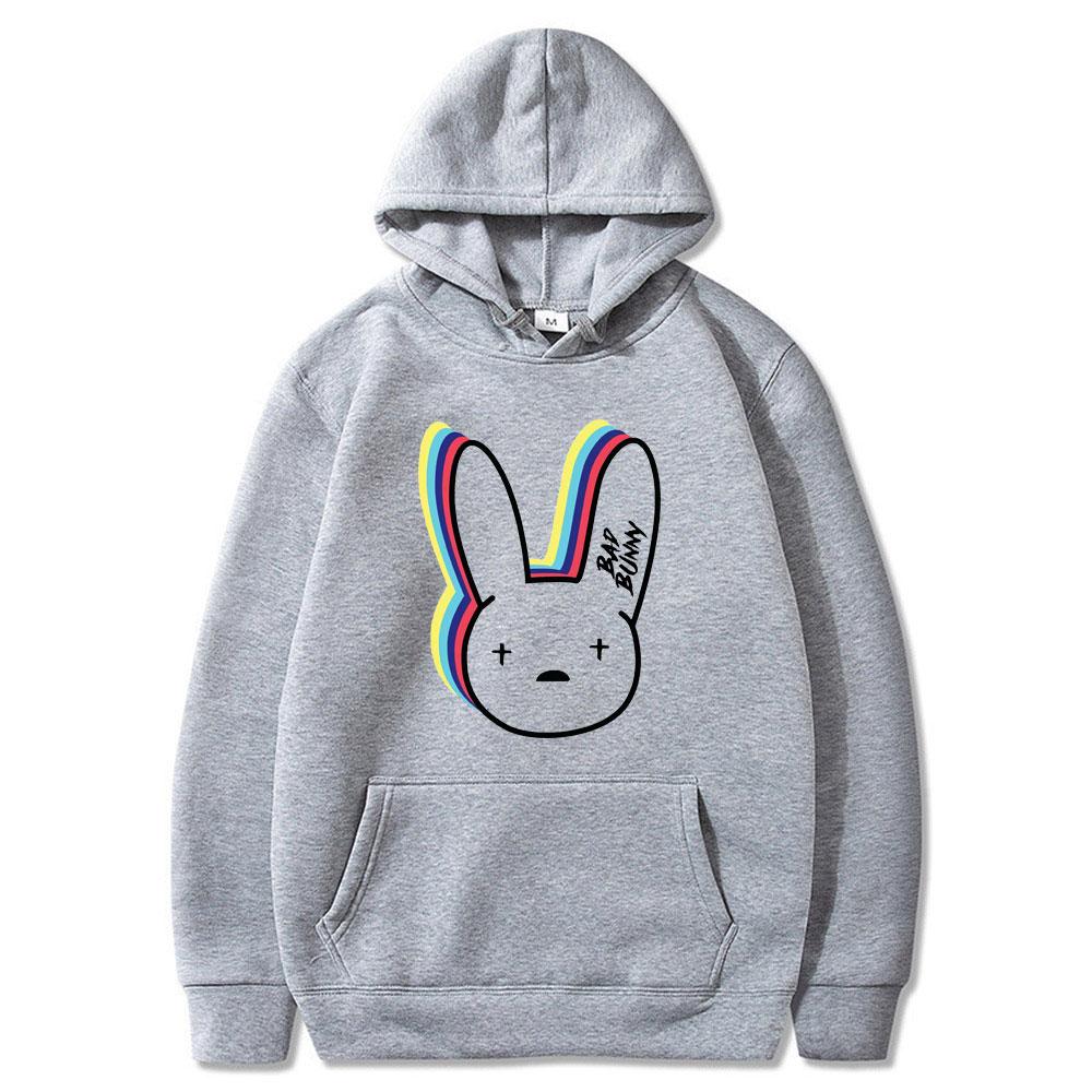 Bad Bunny Logo Hoodie