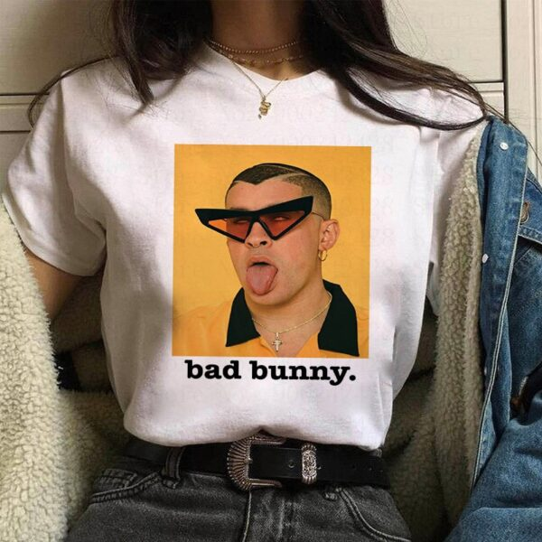 Bad Bunny Face T-shirt