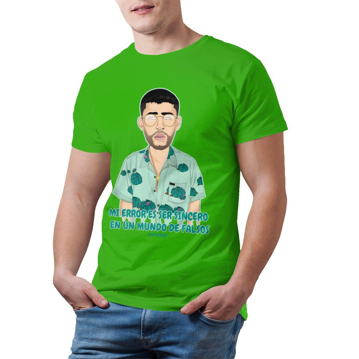 Bad Bunny Short-Sleeve Oversized T-Shirt